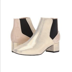 BC Footwear White Ankle Bootie
